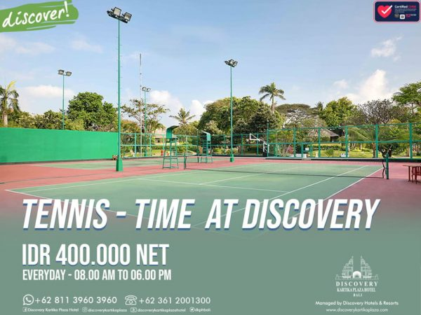 Tennis Time at Discovery