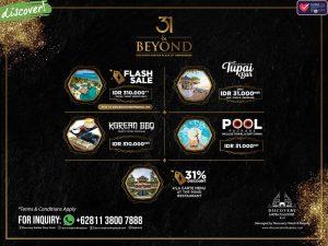 31 & Beyond: Discovery Kartika Plaza Hotel Bali 31st Anniversary